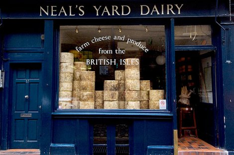 ©Neals Yard Dairy, Covent Garden
