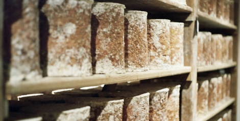 Stichelton cheese.  ©Stichelton Dairy Ltd.
