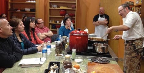Mushroom cooking class at Whole-Foods, Sacramento