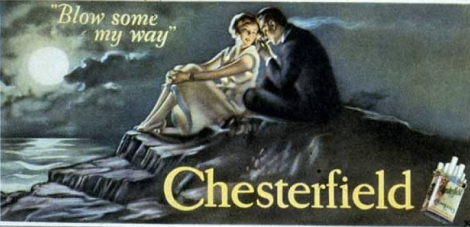 ©1926 Newell-Emmett Chesterfield Billboard